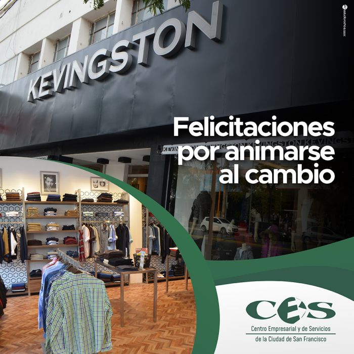 Reinauguración Kevingston