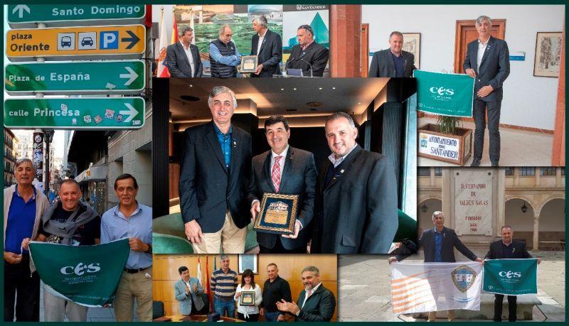 El CES fue parte de la IX Visita Anual a Centros Comerciales Abiertos de España